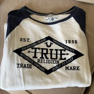 True Religion Baseball Tee